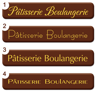 Plaquettes chocolat Rectangle 80 x 30 mm