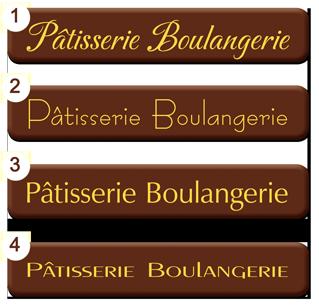 Plaquettes chocolat Label diamètre 30 mm