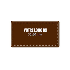 Plaquettes chocolat Rectangle 55 x 30 mm