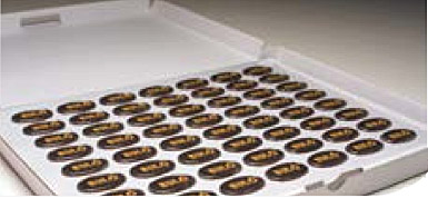 Boite de plaquettes de chocolat personnalisables