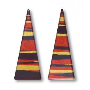 Triangles rayés