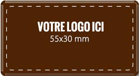 Plaque chocolat à personnaliser rectangle 55 x 30 mm